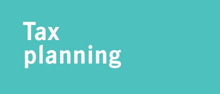 Tax planning Thumbnail