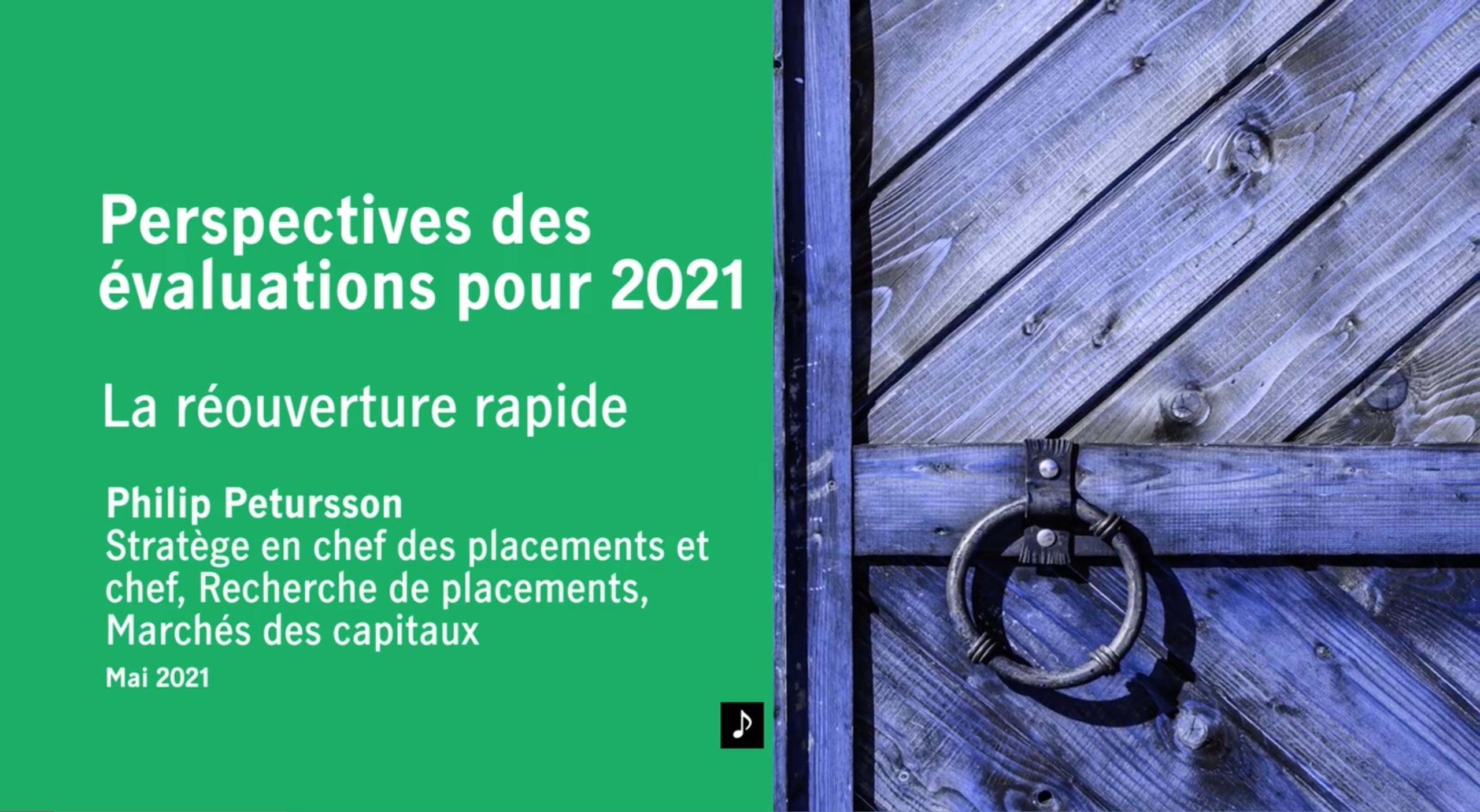 Perspectives des évaluations pour 2021 Thumbnail