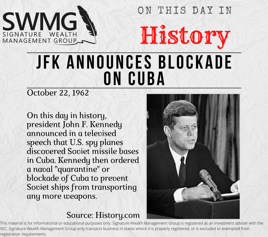On This Day In History October 22, 1962 Thumbnail