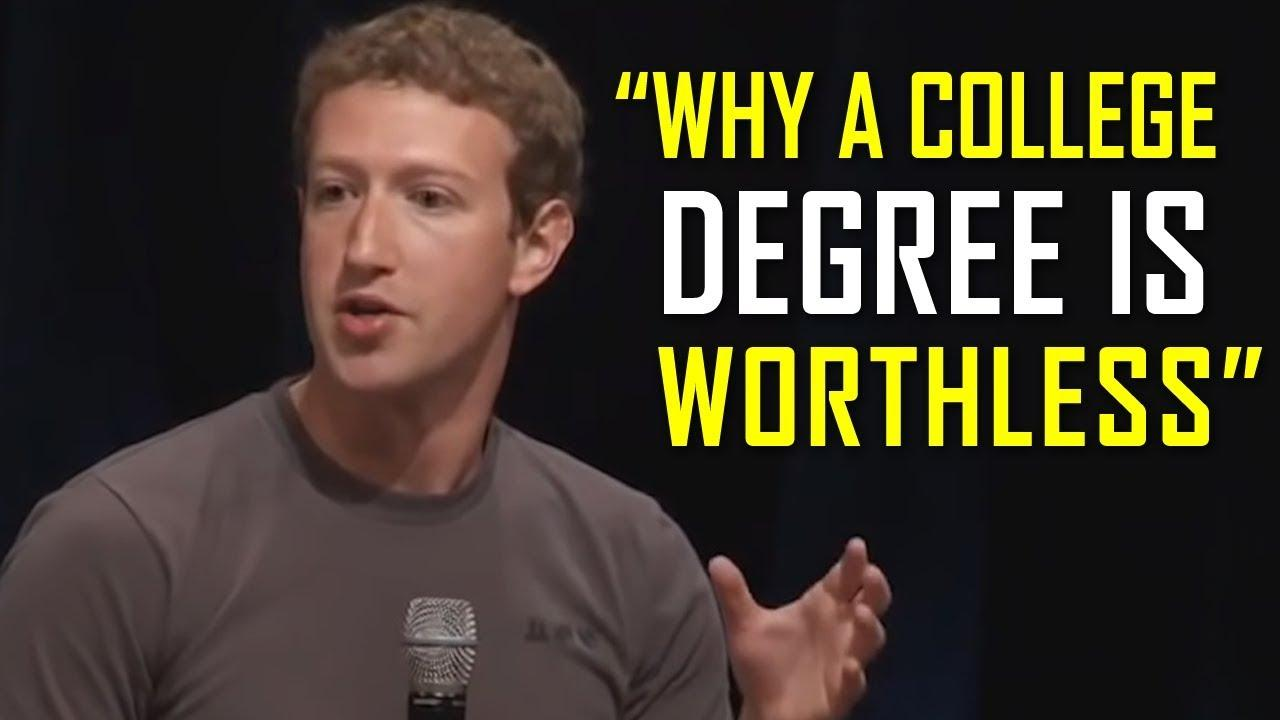 The Most Successful People Explain Why a College Degree is USELESS Thumbnail