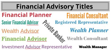 Financial Advisor Titles