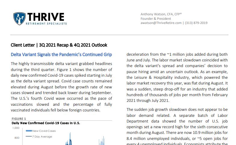 ThriveRetire Q3 2021 Market Recap and Outlook Thumbnail