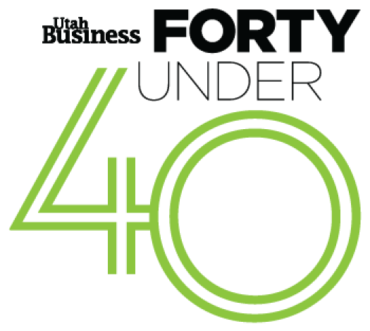 Utah Business 40 Under 40 logo