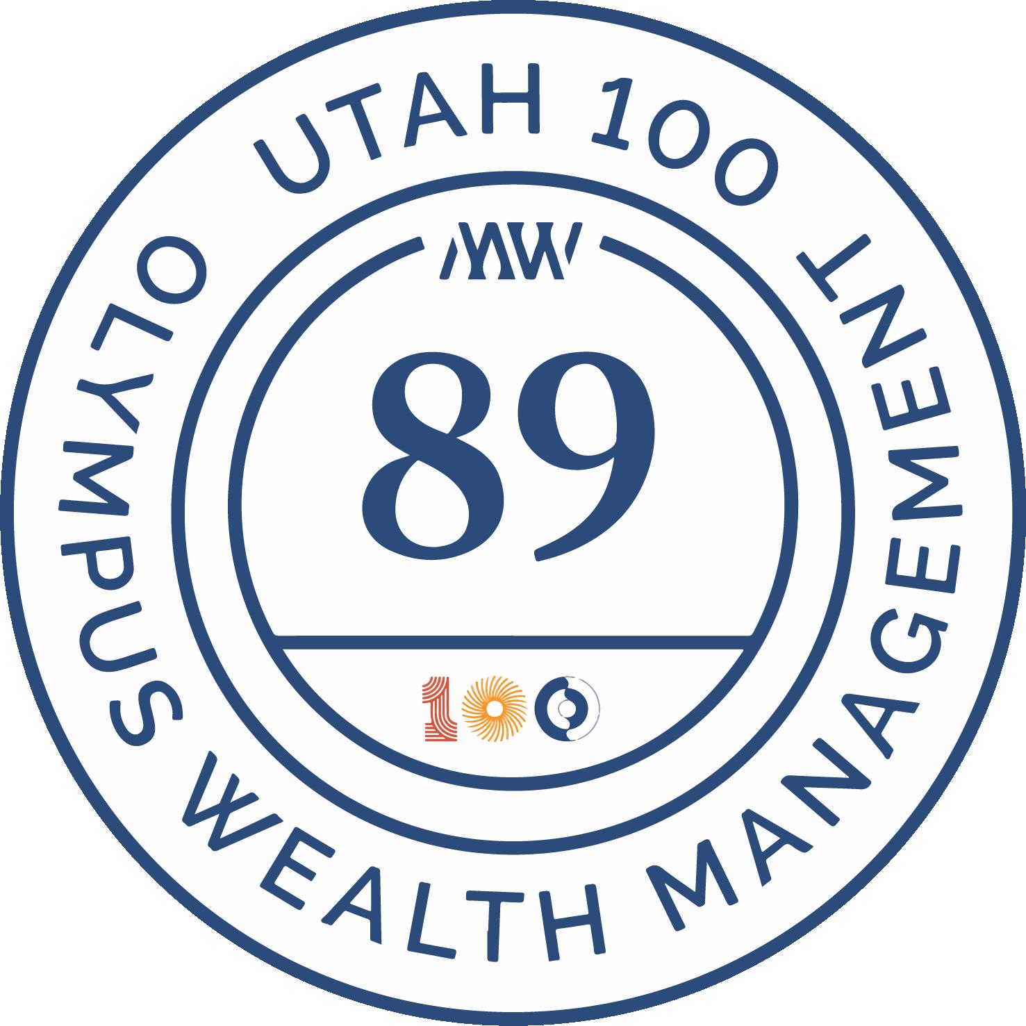 Utah 100 logo