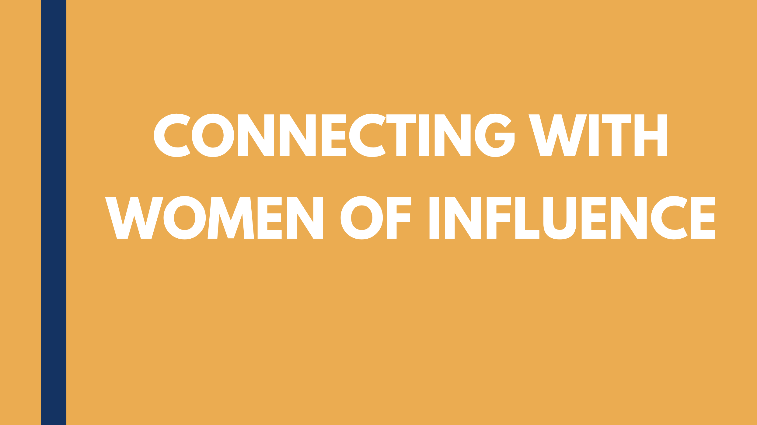 {Video} Connecting With Women of Influence: Susan Nolan Thumbnail