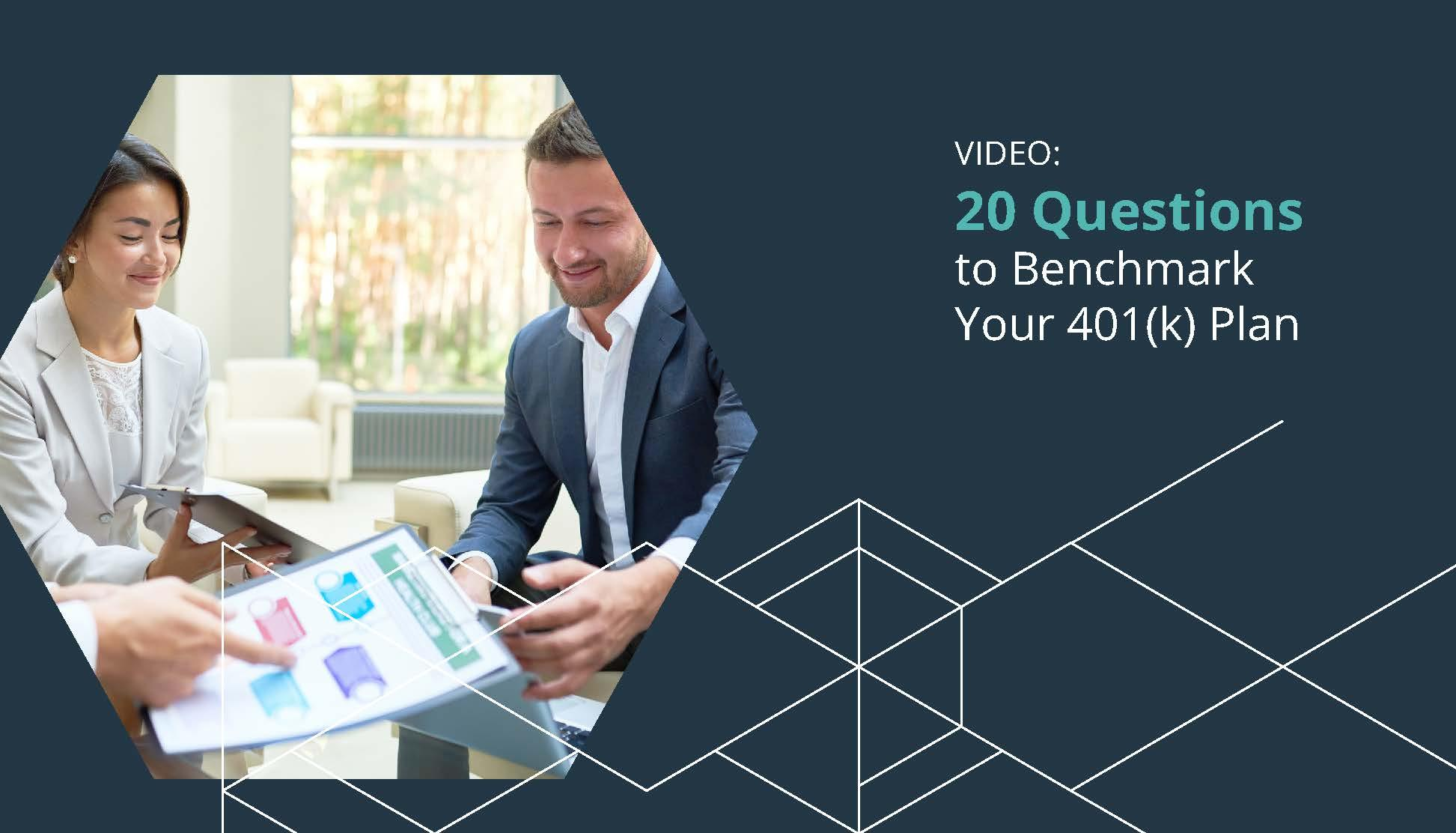 {Video} 20 Questions to Benchmark Your Retirement Plan Thumbnail