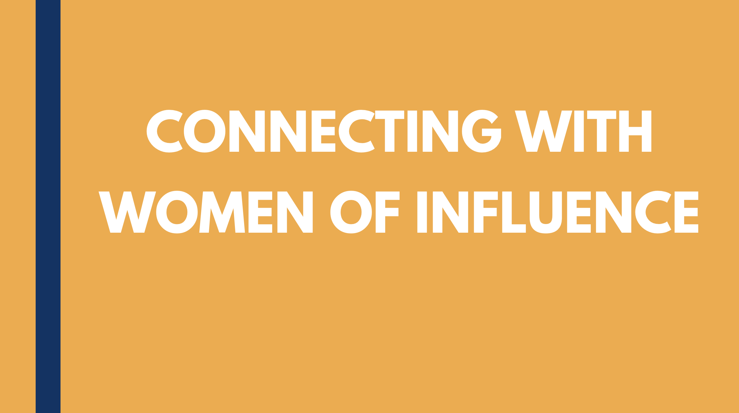 {Video} Connecting With Women of Influence: Ronda Abbruzzese, VP of Leasing and Marketing for Nexus Properties. Thumbnail