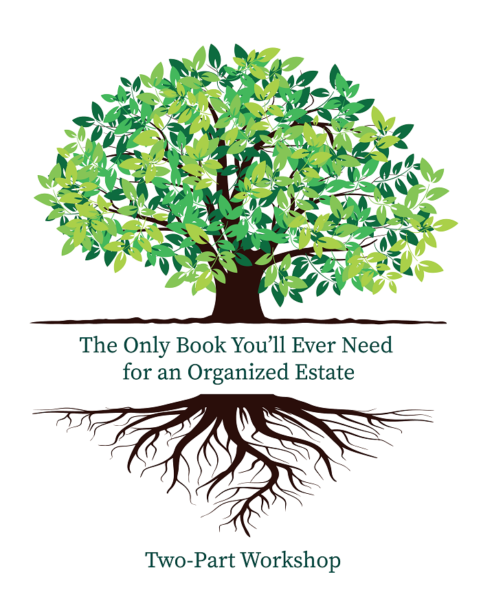 The Only Book You'll Ever Need for an Organized Estate: Two-Part Seminar Thumbnail