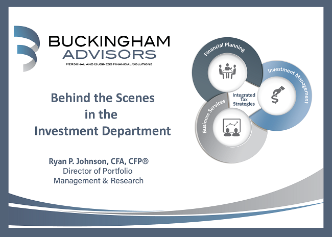 Behind the Scenes in the Investment Department Thumbnail