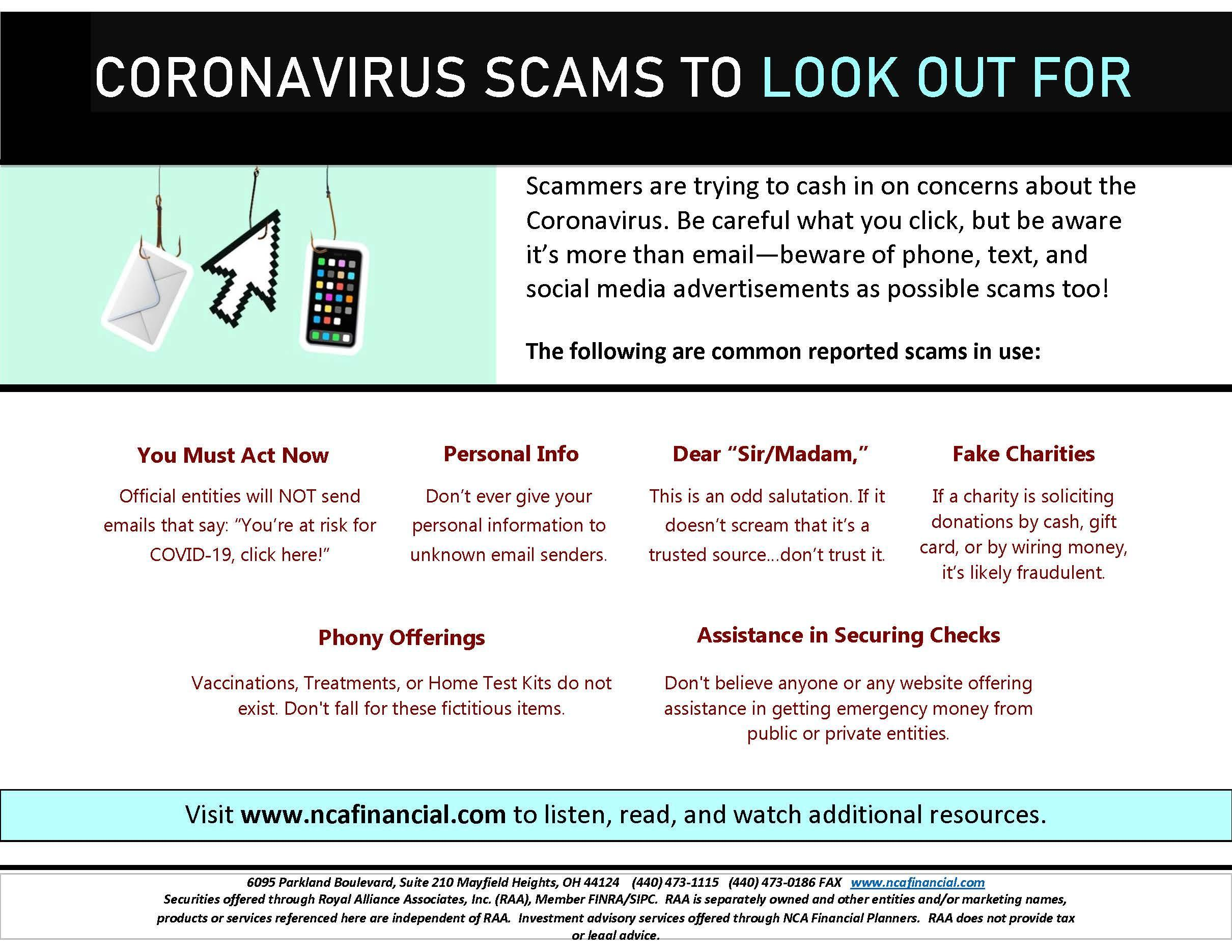 Coronavirus Cyber Scams to be Aware Of Thumbnail