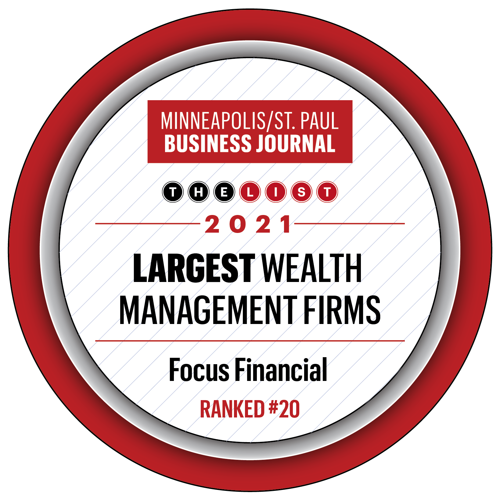 Focus Financial Ranks as One of the Largest Wealth Management Firms in the Twin Cities Thumbnail