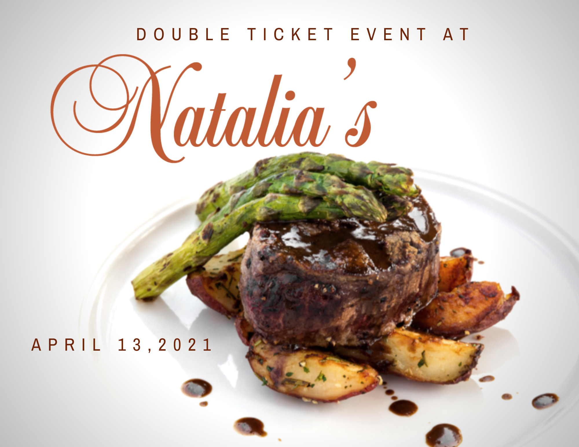 Double Ticket at Natalia's @ 6pm Thumbnail