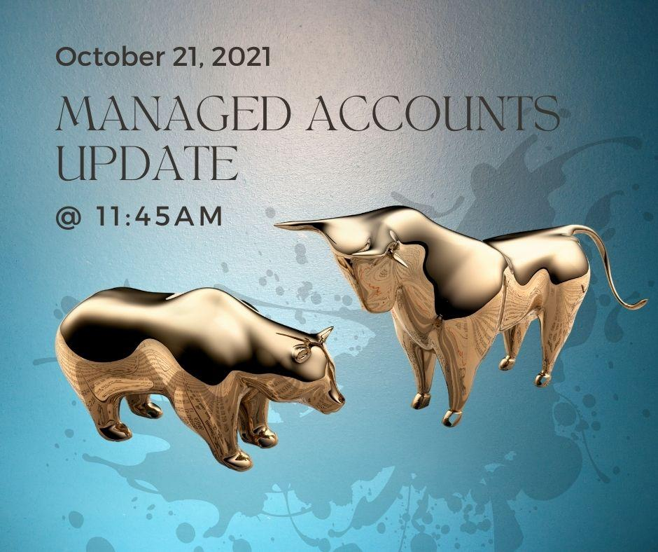 ONLINE:  Managed Accounts Update! - Oct. 21st Thumbnail