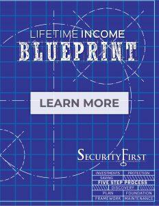 Five-Step Lifetime Income Blueprint Process image