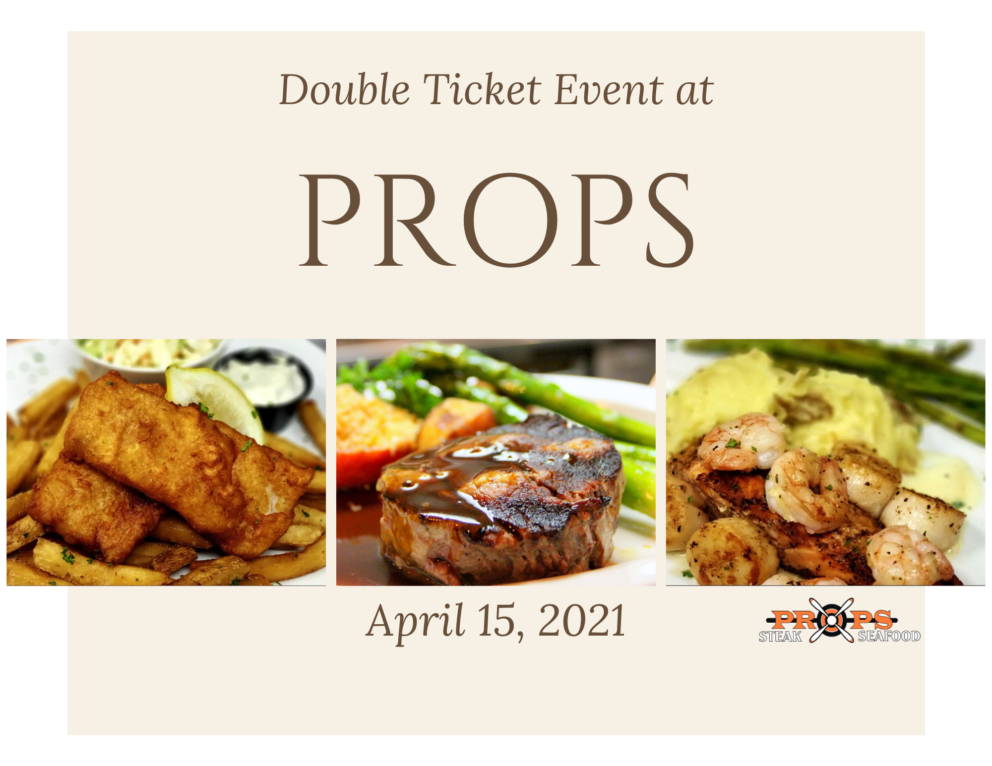 Double Ticket at Props @ 6pm Thumbnail
