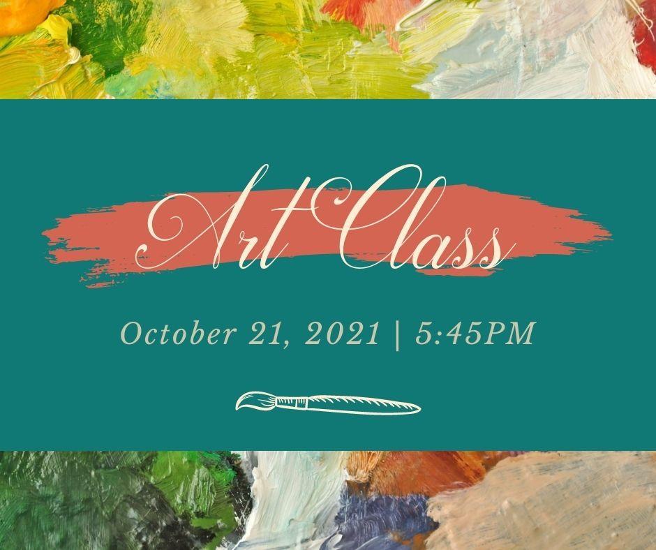 Art Class - October 21st Thumbnail