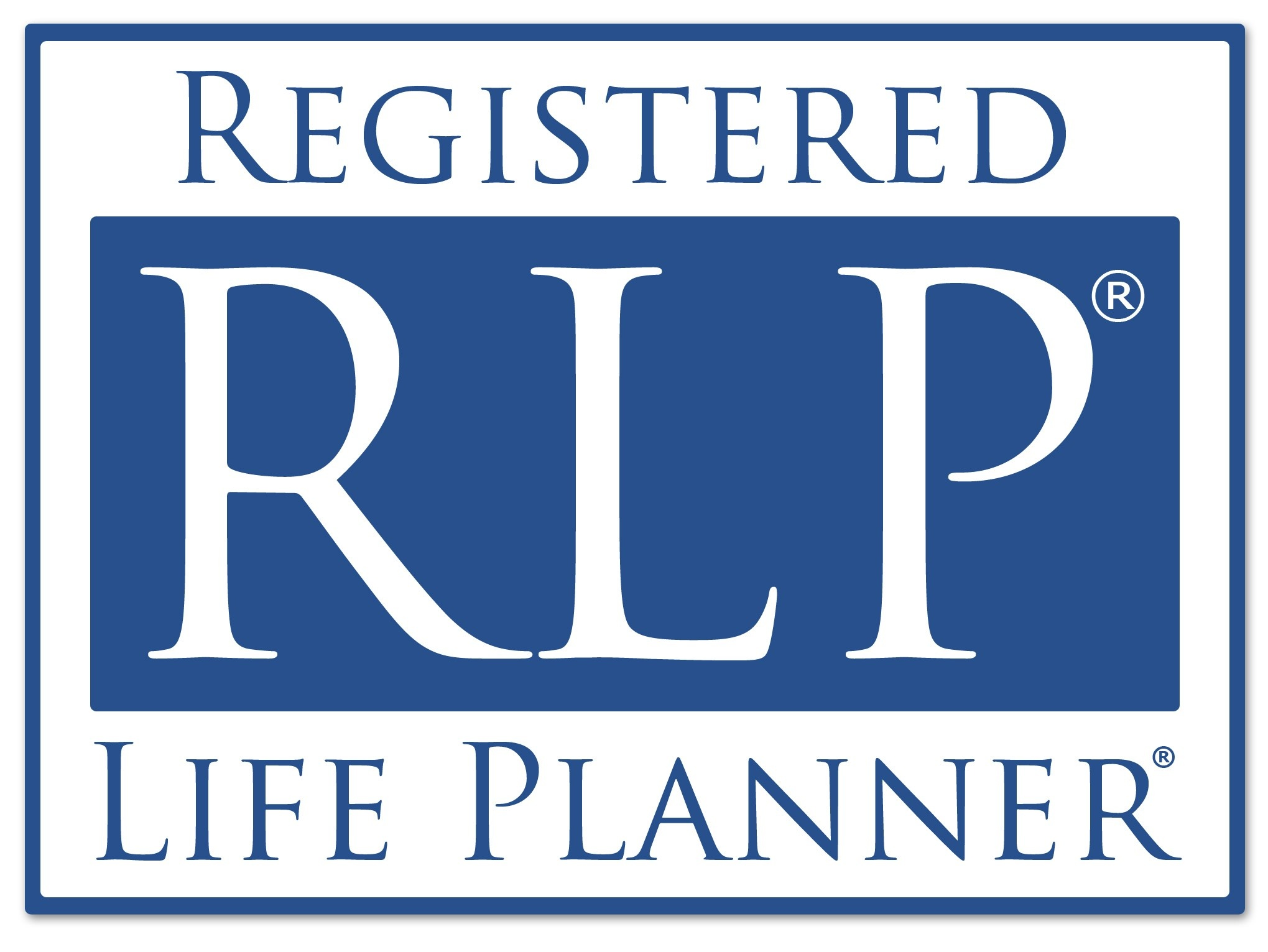Registered Life Planner logo