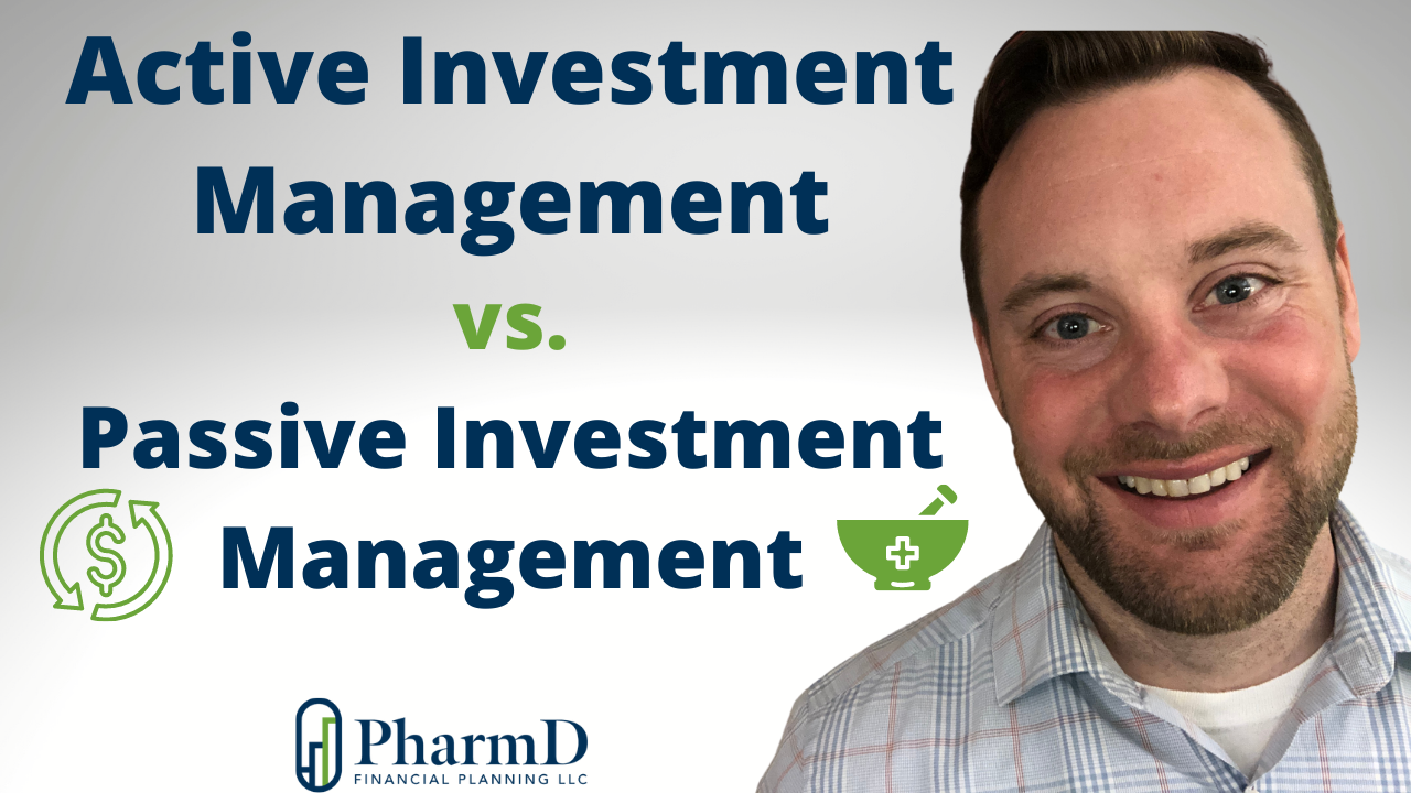 Active vs Passive Investment Management. What do they mean, why does it matter, and which is best? Thumbnail