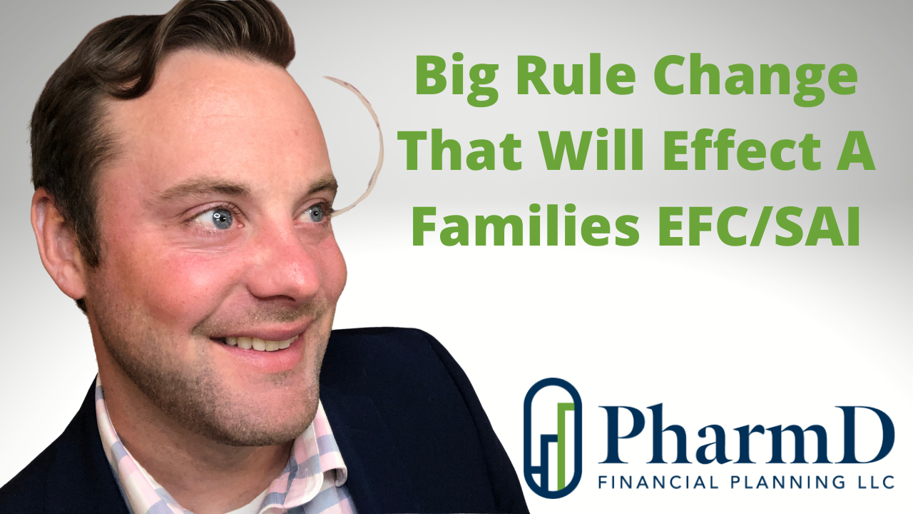 Big Rule Change That Will Effect A College Bound Families Expected Family Contribution Thumbnail