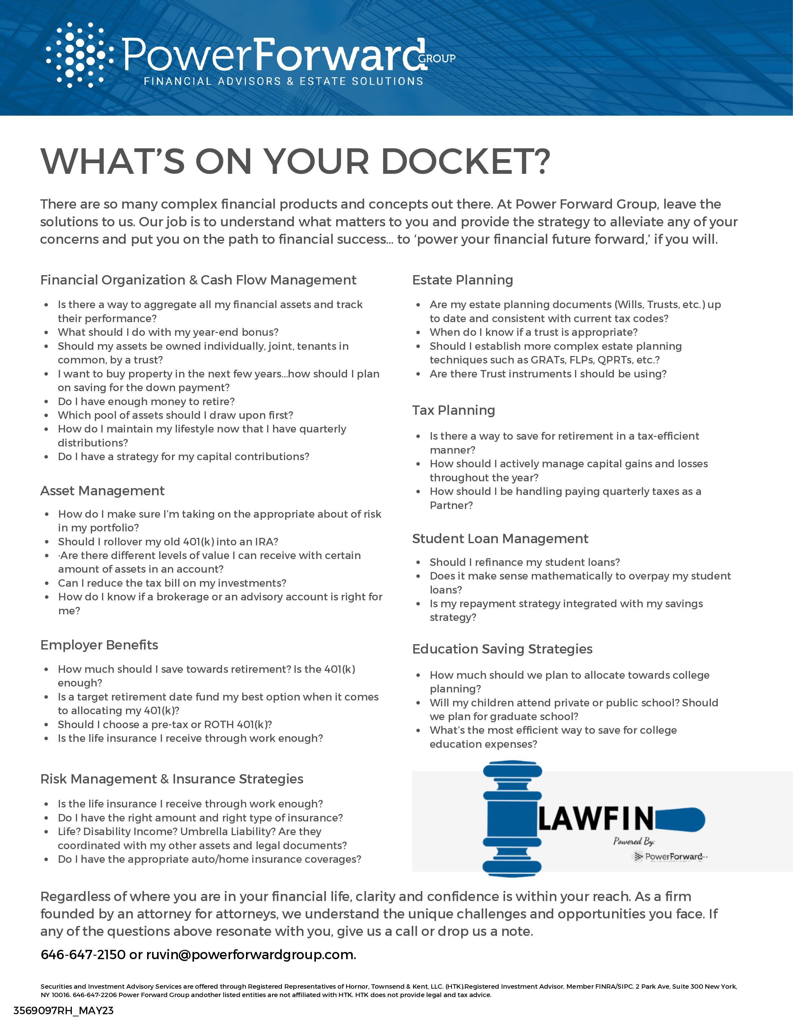 preview of free downloadable ebook - Attorneys guide to student loans | New York City, NY | PowerForward Group