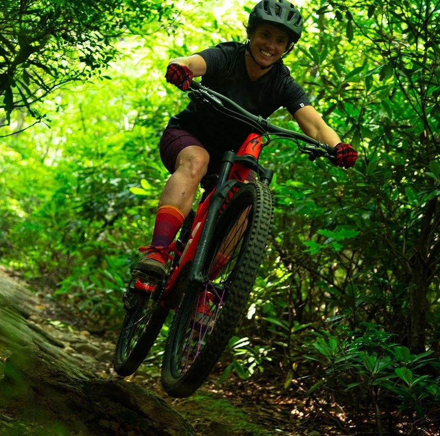 Mountain Bike Therapy with Sara Mitchell Hunter  Thumbnail