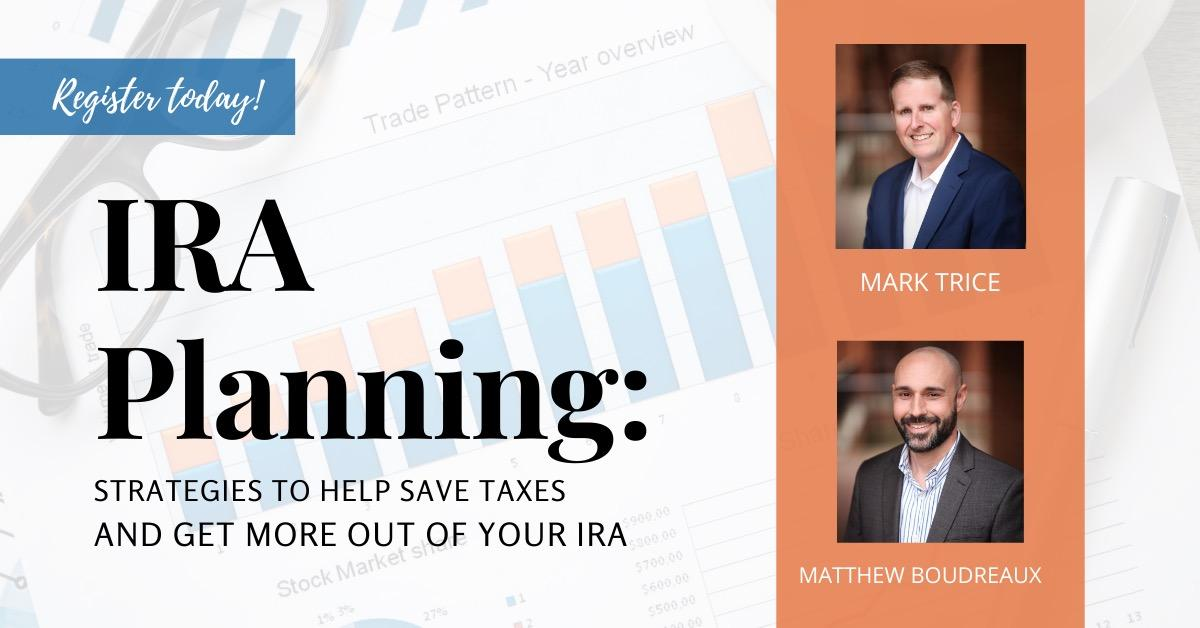 Smart IRA Planning: Strategies to Help You Save Taxes & Get More Out of Your IRA Thumbnail