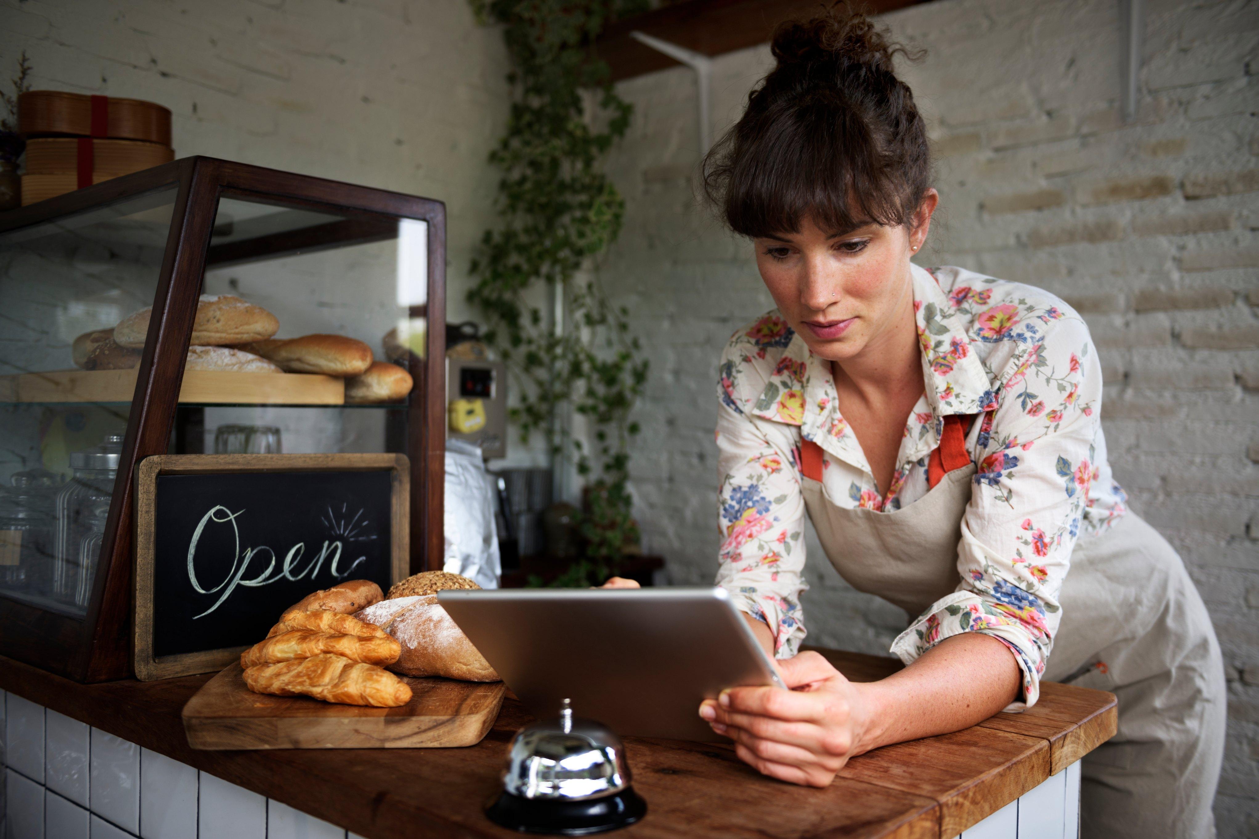 Women in bakery