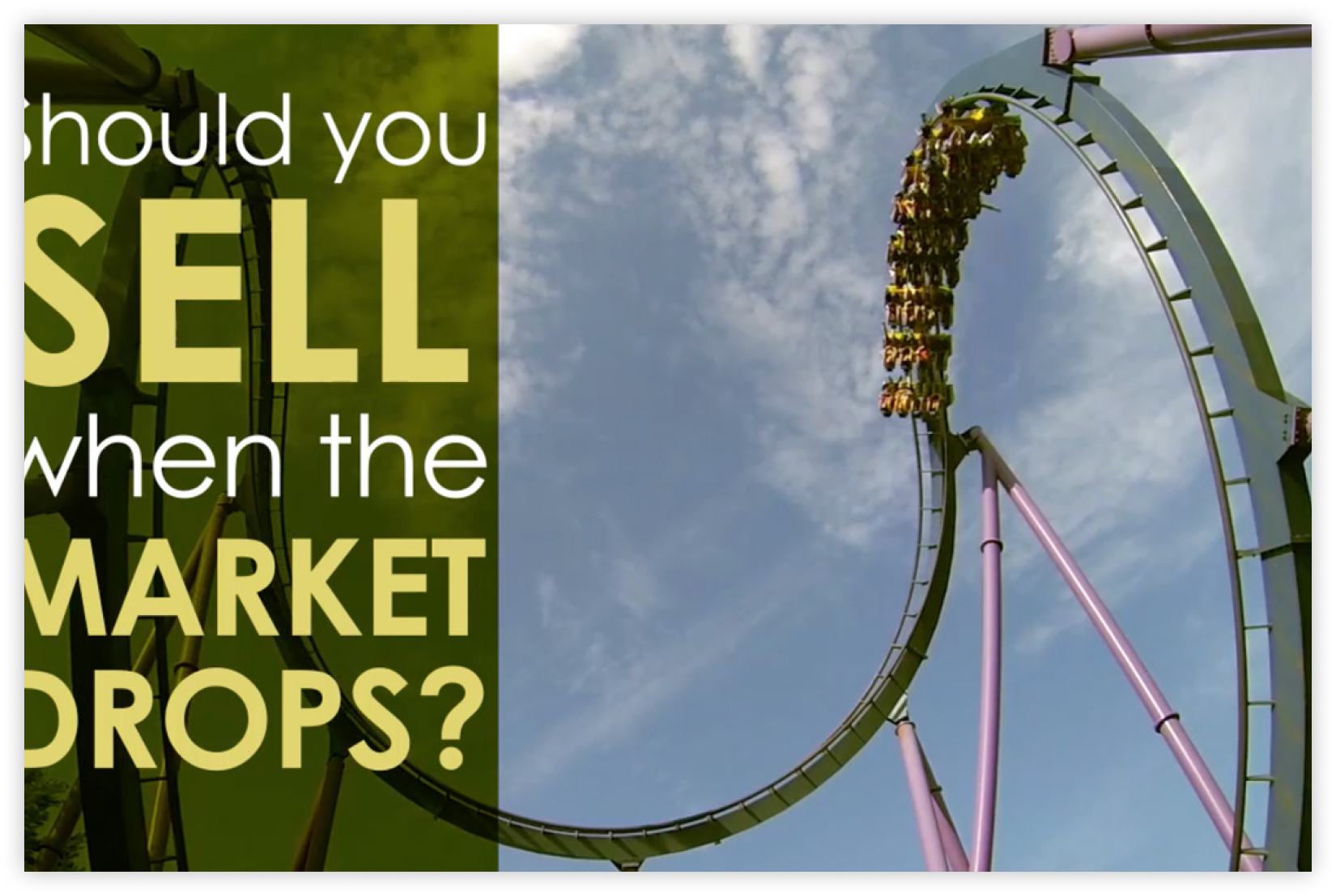 Should You Sell When the Market Drops? Thumbnail