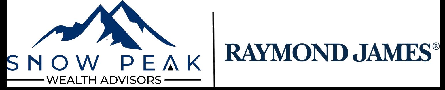 Logo for Snow Peak Wealth Advisors