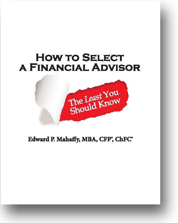 How To Select A Financial Advisor