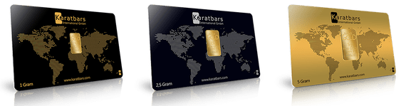 KB Gold Cards