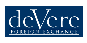 The Devere Foreign Exchange logo. Tokyo, Japan Adrian Rowles Financial Advisor