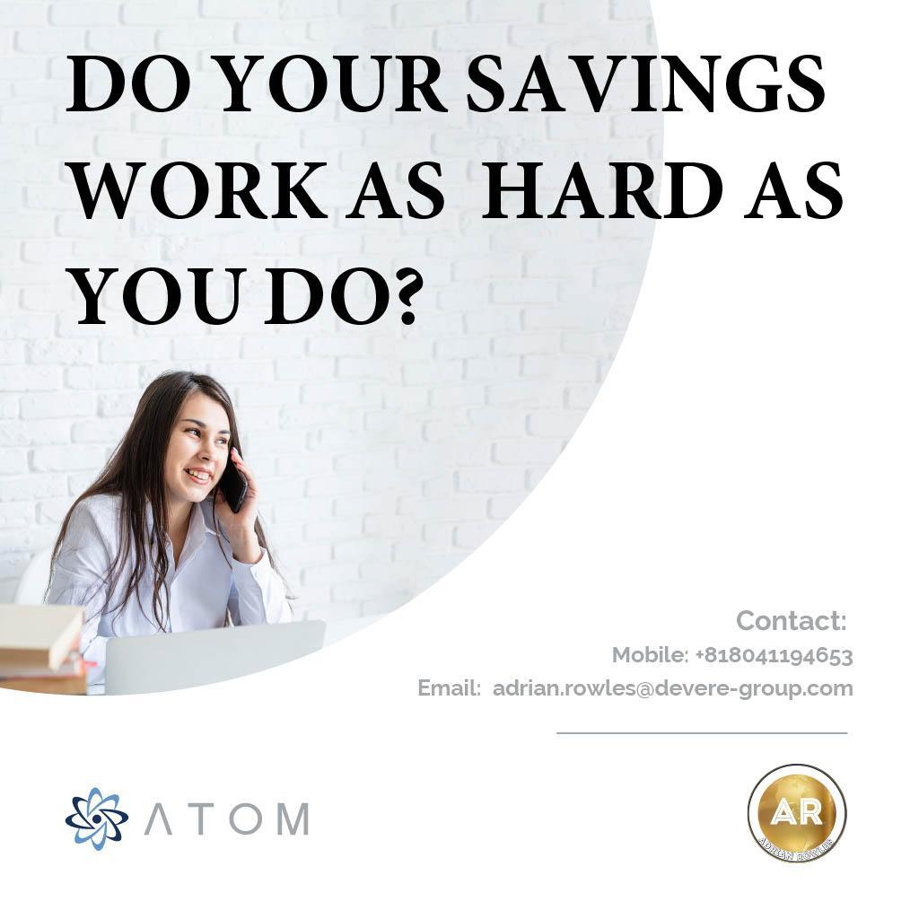 Atom Tokyo, Japan Adrian Rowles Financial Advisor