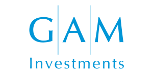 The GAM Investments logo Tokyo, Japan Adrian Rowles Financial Advisor