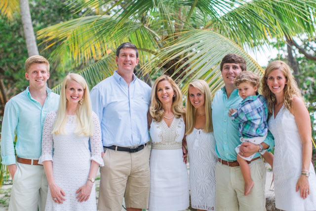 Jim David family