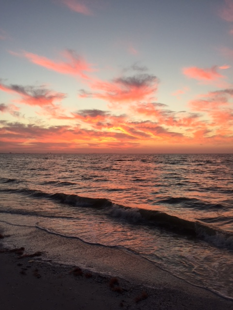 Sanibel Island sunrise.