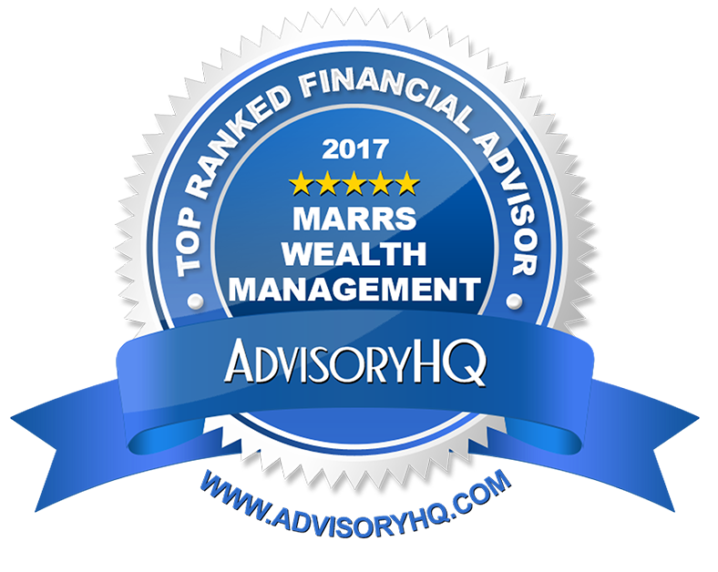 2017 Top Ranked Financial Advisor Award