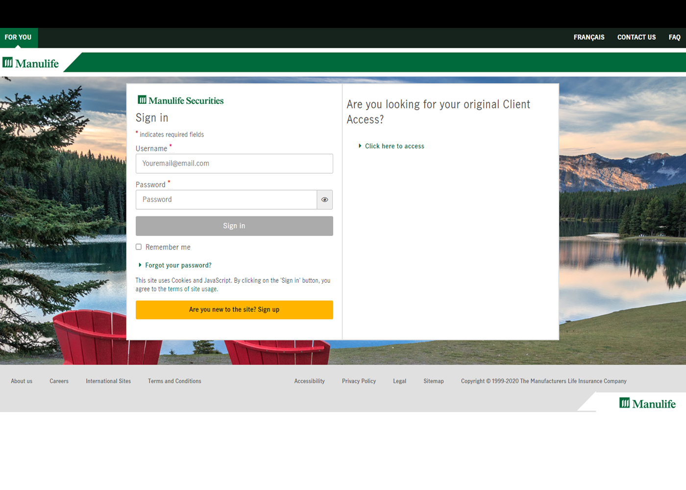 Updates to your Manulife Online Access Thumbnail