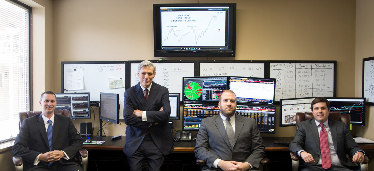 Mader Shannon Wealth Management financial advisors employ high tech strategies to actively manage investments for clients
