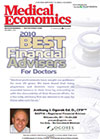 Ogorek featured in Medical Economics Best Financial Advisors for Doctors