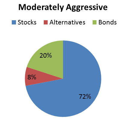 moderately aggressive portfolio