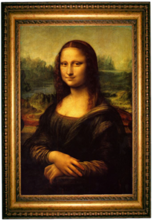 risk estate planning mona lisa framed image
