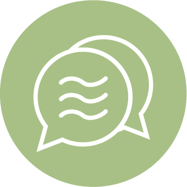 """Let's Talk"" Sequinox Financial Planning icon"