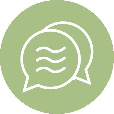 """Let's Talk"" Sequinox Financial Planning icon"